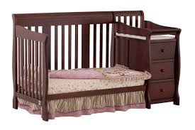 Crib That Converts To Twin Size Bed by Storkcraft Portofino 4 In 1 Convertible Crib And Changer U0026 Reviews