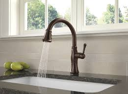 delta cassidy single handle pull out kitchen faucet 4197 rb dst delta 9197t dst cassidy single handle pull kitchen faucet