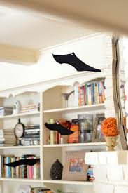 diy wire hanger bats for halloween good simple