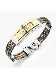 men gold tone bracelet images Men 39 s bracelets zilingo malaysia jpg