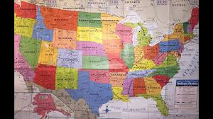 Map Georgia Usa by Map Of Usa States Georgia Vlog Youtube