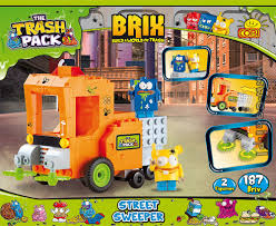street sweeper trash pack brix for kids wiek cobi toys