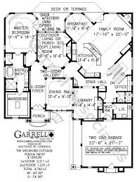 floor plans with courtyards welsford cottage house plan house plans by garrell associates inc