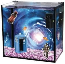 doctor who tardis fish tank