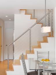 stainless steel stair rail houzz