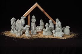 nativity set bloom