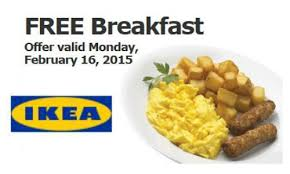 financement cuisine ikea ikea free breakfast on monday mondays february and free