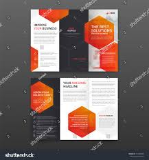 medical tri fold brochure template layout stock vector 714386098
