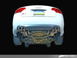 audi s4 exhaust awe tuning audi b7 s4 touring track edition exhausts awe tuning