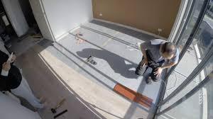 Composite Laminate Flooring Replacing Carpet With Laminate Flooring Diy Youtube