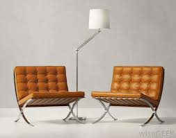 Contemporary Chairs Living Room Furniture Fantastic Brown Laminated Tufted Modern Chair Style