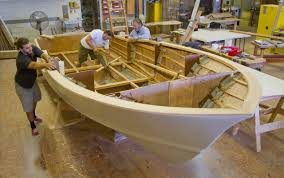 home built and fiberglass boat plans how to plywood ski boat building school marine technology