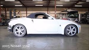 nissan 370z used parts 2005 nissan 350z convertible used parts youtube