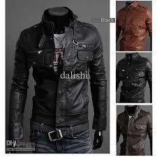 leather motorcycle jackets for sale 2018 mens rider zip up leather motorcycle jackets outerwears 4sz