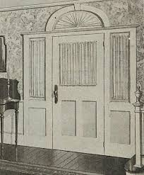 Curtains For Doors With Windows Attractive Ways To Curtain Door Windows A Hundred Years Ago