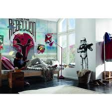 chambre wars decor 22 best wars photomurals images on disney