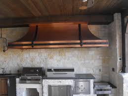 Copper Backsplash Kitchen Copper Kitchen Vent Hoods The Copper Backsplash Company