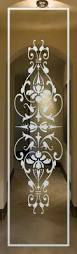 Glass Door Etching Designs by Interior Frosted Glass Doors Sandblasted Glass Iron Gates Ornate
