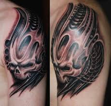 mechanic tattoos 44 coolest biomechanical tattoo designs with meaning picsmine