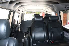 nissan urvan seat geoffrey transport service van rental philippines