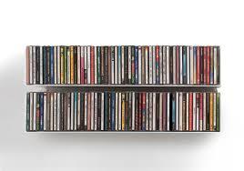 cd shelving cd rack by teebooks teebooks set of 2 ucd cd shelves