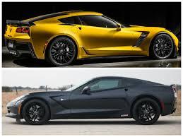 corvette z51 vs z06 hennessey hpe650 supercharged c7 corvette vs 2015 corvette z06
