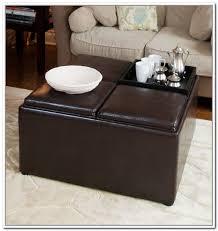 Diy Storage Ottoman Coffee Table Microfiber Storage Ottoman Coffee Table Home Design Ideas
