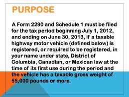 form 2290 tax computation table e file irs form 2290 with expresstrucktax com