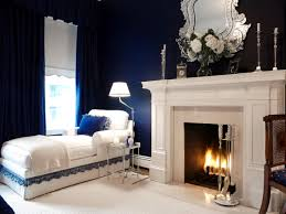 Traditional Bedrooms - traditional master bedroom blue with traditional bedroom design