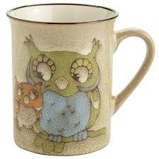 Owl Canisters For The Kitchen Owl Buddy Mug Pier 1 Imports
