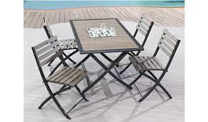 chaise et table de jardin pas cher table jardin avec chaise salon de jardin pas cher resine inds