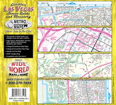 Clark County Zip Code Map by Greater Las Vegas Street Guide U0026 Directory Metro Maps Shane