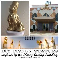 diy disney statues home decor inspired by the walt disney world