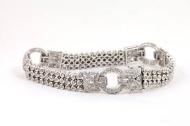 bracelet design diamond images Designer diamond bracelet anushka jewels jpg