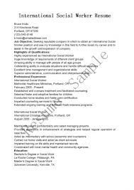 social worker resumes social worker resumes objective for work internship r sevte