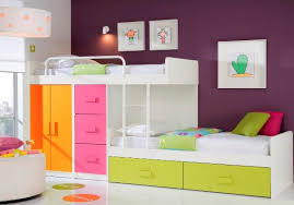 Bunk Beds With Wardrobe Customisable Staggered Bunk Beds Wardrobe Drawers Storage