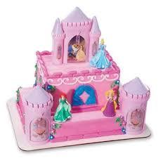castle cakes decopac disney princess castle cake kit decorations topper party