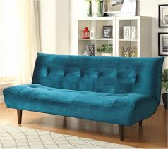 vintage sleeper sofa new living room tufted futon velour couch