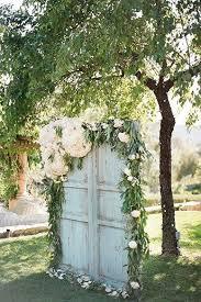 wedding backdrop garden garden wedding create a secret garden vibe by decking a wall or