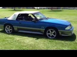 mustang 1991 for sale 91 mustang gt convertible for sale