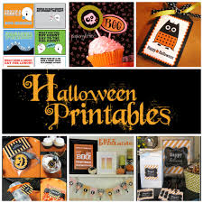 Printables Halloween by Free Halloween Printables Skip To My Lou