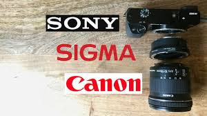 canon ef s 10 18mm sigma mc 11 sony a6000 youtube