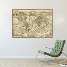 World Home Decor by Aliexpress Com Buy Vintage Style Retro World Map Poster Home