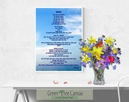 mom poem print etsy
