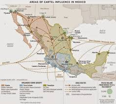 Zacatecas Mexico Map by Borderland Beat March 2015 New Cartel Map Including Zeta And