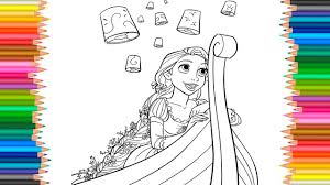 disney princess rapunzel coloring book tangled coloring pages