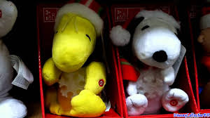 Singing Stuffed Animals Snoopy Singing Plush 2011