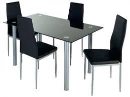 chaise cuisine noir table cuisine avec chaises annin avec ensemble chaise et table