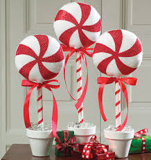 Red And White Christmas Decorations Pinterest by Red White Peppermint Candy Christmas Decorations Holiday Decor
