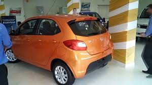 tata tiago revotorq xz sunburst orange colour youtube